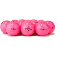 Callaway Golf Logo Overrun Solaire Pink Golf Balls
