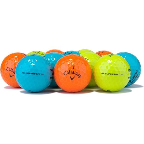 Callaway Golf Prior Generation Supersoft Multi-Color Golf Balls