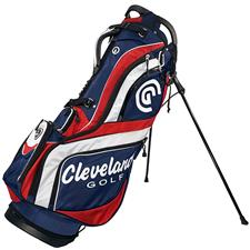 Cleveland Golf CG Stand Bag - Navy-Red-White