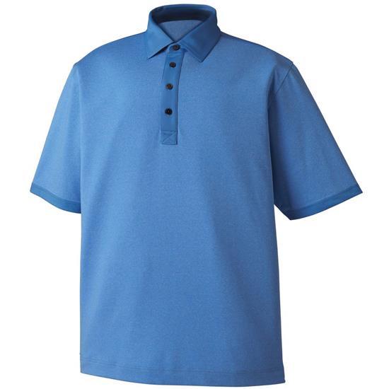 FootJoy Men's Heather Lisle Self Collar Previous Season Polo