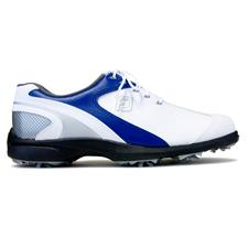 FootJoy Men's Sport LT Golf Shoe - White-Blue - 9 Medium
