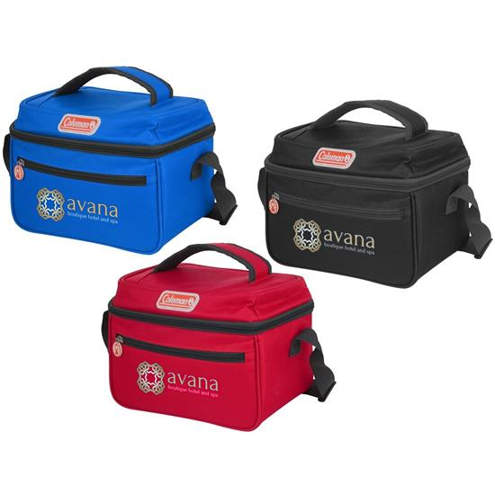 Logo Coleman 6 Can Cooler - Full Color