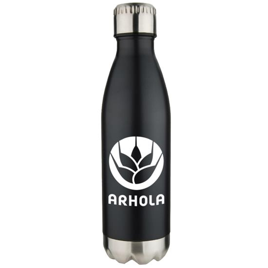 Logo 17 oz. Stainless Vacuum Pop Bottles