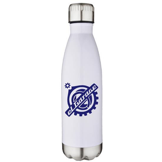Logo 17 oz. Stainless Vacuum Pop Bottles