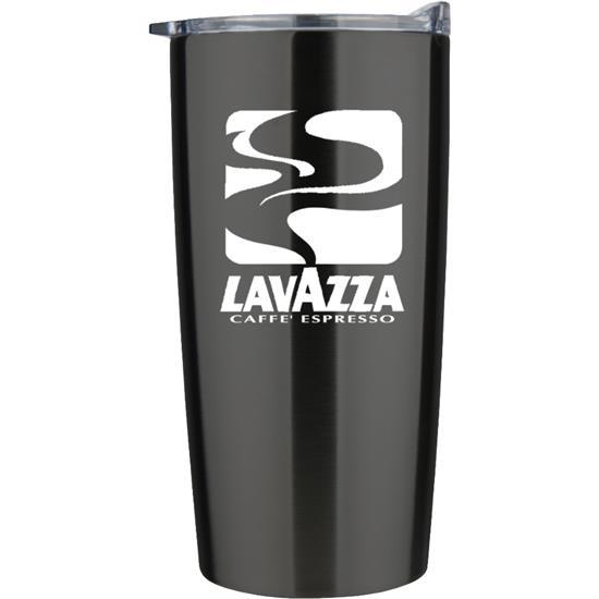 Logo 20 oz. Stainless Vacuum Traveler Cup