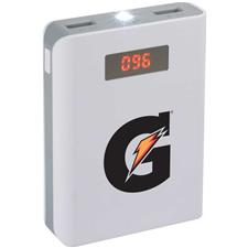Logo Custom Logo 8,800 mAh Power Bank with Digital Power Display