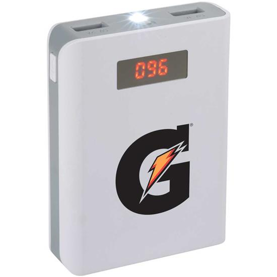 Logo 8,800 mAh Power Bank with Digital Power Display
