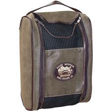 Logo Golf Canyon Shoe Bag - Sierra Brown w/ Mahogany Accents