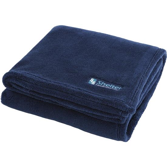 Logo Soft Touch Velura Blanket