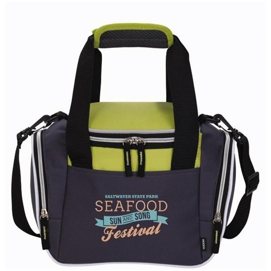 Logo Koozie Lunch Duffel Kooler