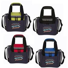 Logo Custom Logo Koozie Lunch Duffel Kooler