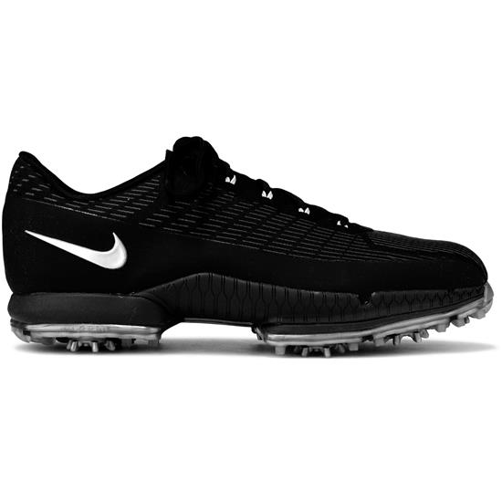 Nike Men s Air Zoom Attack Flywire Golf Shoes - Black-Metallic ... 234aafe04