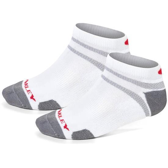 Oakley Men's O Hydrolix No Show Golf Socks - 2 Pack