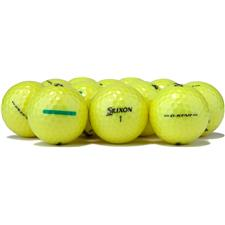 Srixon Logo Overrun Q-Star Tour Yellow Golf Balls