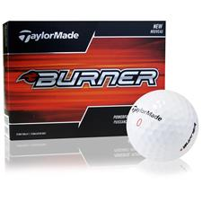 Taylor Made Burner Logo Overrun Golf Balls
