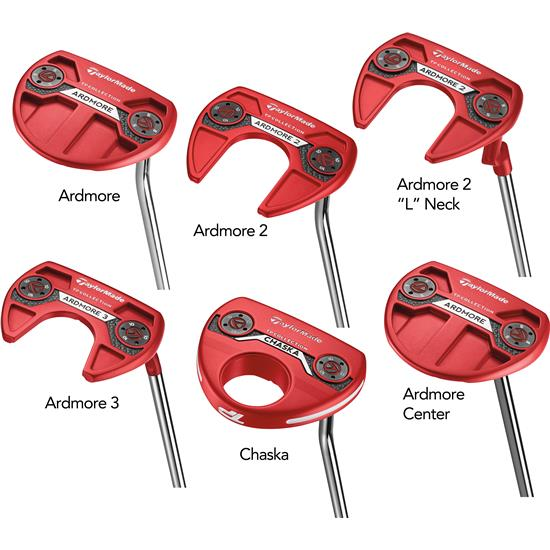Taylor Made TP Red Collection Putters