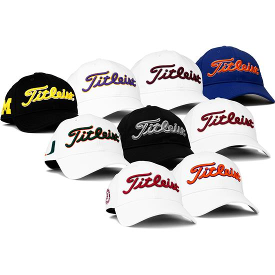 46e56104aea Titleist Men s Collegiate Performance Adjustable Hat Golfballs.com