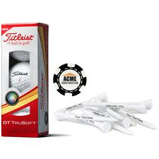 Titleist Custom Logo Custom Logo Sleeve, Chip Marker and Tee Kit