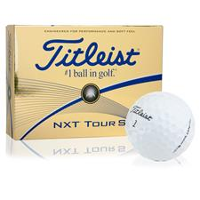 Titleist NXT Tour S Custom Logo Golf Balls