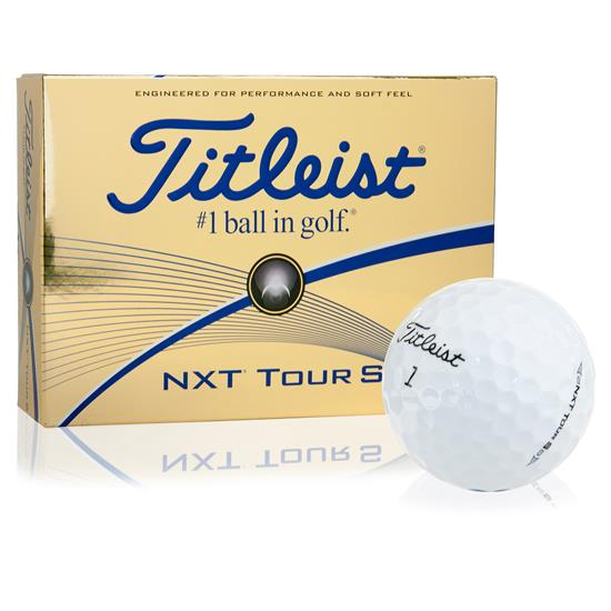 Titleist Prior Generation NXT Tour S Golf Balls