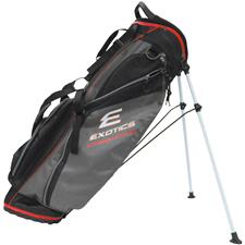 Tour Edge Exotics Xtreme Lite 3.5 Stand Bag - Black-Charcoal-Red