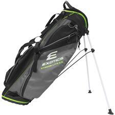 Tour Edge Exotics Xtreme Lite 3.5 Stand Bag - Black-Charcoal-Green