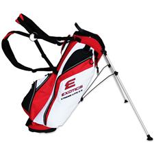 Tour Edge Exotics Xtreme Lite 3.5 Stand Bag - Red-White