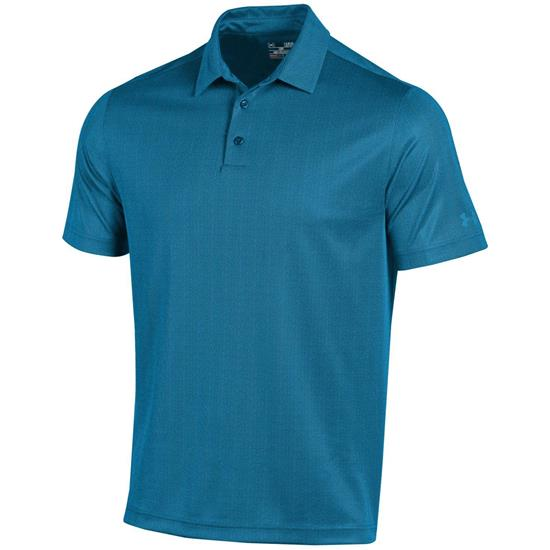 Under Armour Men's Herringbone Print Polo