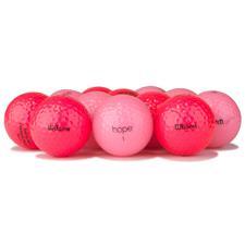 Wilson Logo Overrun Hope Golf Balls