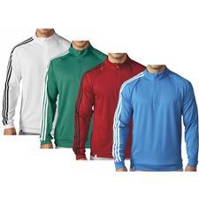 Adidas Men's 3-Stripes 1/4 Zip Layering Top