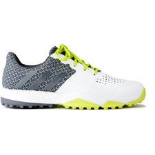 Adidas White-Dark Silver Metallics-Semi Solar Yellow Adipower Sport Boost 3 Golf Shoes