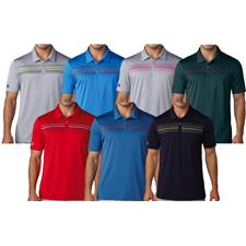 Adidas Men's Climacool Chest Print Polo