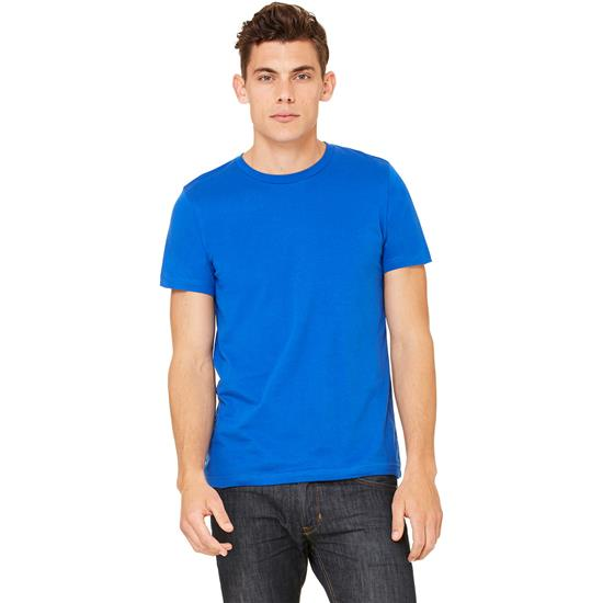 Bella + Canvas Men's Unisex Jersey Short-Sleeve T-Shirt