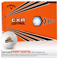 Callaway Golf CXR Control Custom Express Logo Golf Balls