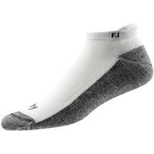 FootJoy Men's ProDry Roll Tab Socks - White - Standard 7-12