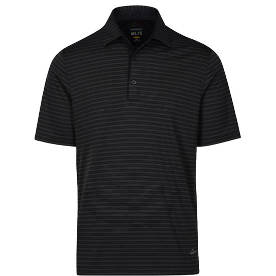 Greg Norman Men's ML75 Tonal Stripe Polo