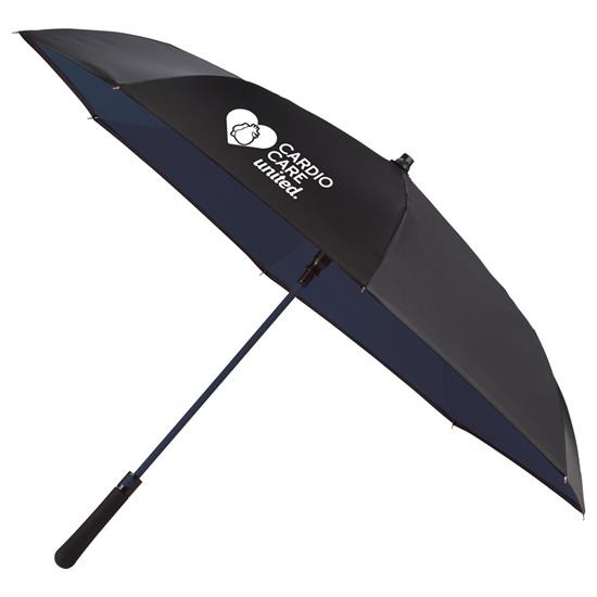 Logo 48 Auto Open Inside-Out Umbrella
