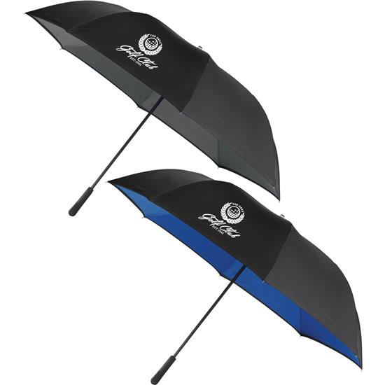 Logo 58 Inside-Out Manual Golf Umbrella