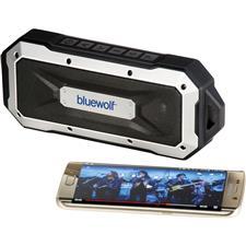 Logo Boulder Waterproof Outdoor Bluetooth Speaker