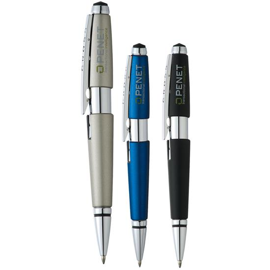 Logo Cross Edge Roller Ball Pen