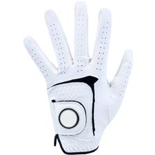 Logo Synthetic Golf Glove w/ Removable Marker for Women