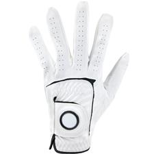 Logo Synthetic Leather Golf Glove w/ Removable Marker