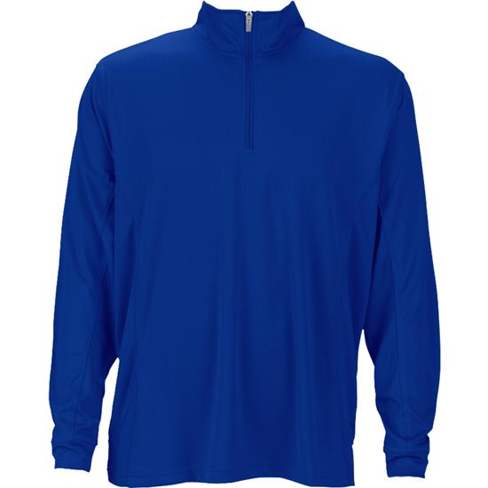 Logo Men's Vansport Mesh 1/4-Zip Tech Pullover