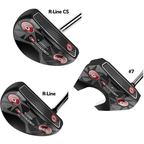 Odyssey Golf O-Works Mallet Putters with SuperStroke 2.0 Grip