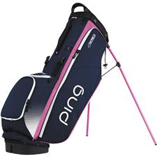 PING 4 Series Personalized Carry Bag  - Navy-White-Pink