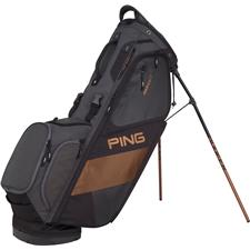 PING Hoofer 14 Personalized Carry Bag - Black-Graphite-Canyon Copper