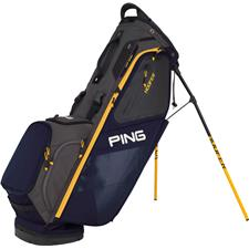 PING Hoofer Personalized Carry Bag - Navy-Graphite-Yellow