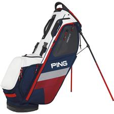 PING Hoofer Personalized Carry Bag - Navy-White-Red
