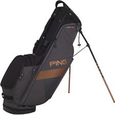 PING Hoofer Lite Personalized Carry Bag - Graphite-Black-Canyon Copper