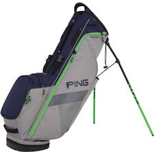 PING Hoofer Lite Personalized Carry Bag - Silver-Navy-Electric Green